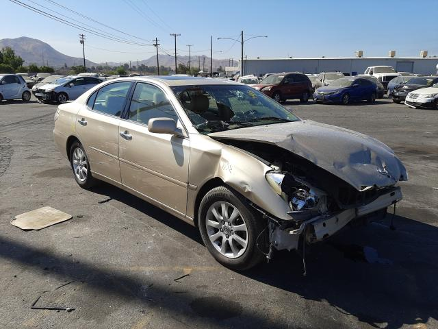 Salvage cars for sale from Copart Colton, CA: 2003 Lexus ES 300