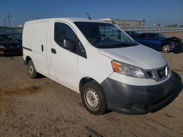 Salvage cars for sale at Mercedes, TX auction: 2014 Nissan NV200 2.5S