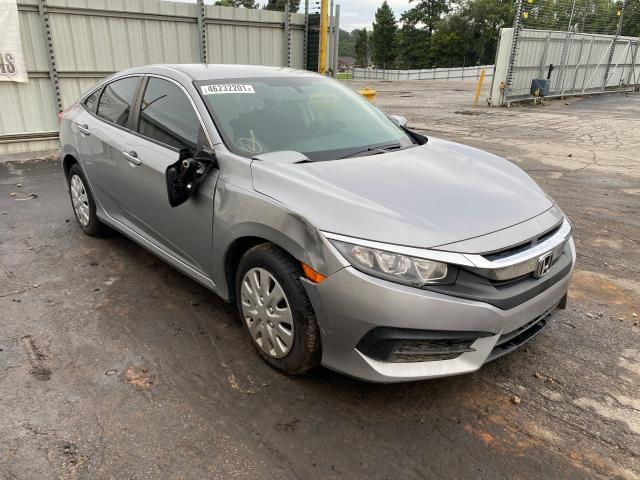 Salvage cars for sale from Copart Austell, GA: 2017 Honda Civic LX