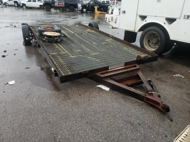 Salvage cars for sale from Copart Hueytown, AL: 1997 Utility Trailer