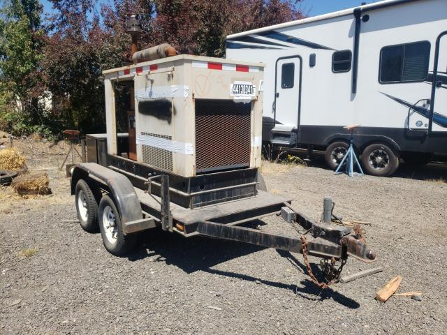 Salvage cars for sale from Copart Woodburn, OR: 1990 Unknown Generator