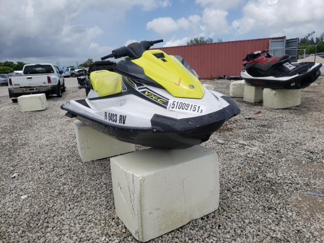 Salvage cars for sale from Copart Opa Locka, FL: 2019 Yamaha VX