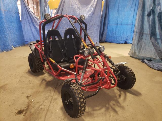 Salvage motorcycles for sale at Columbia Station, OH auction: 2016 Kand GO Cart