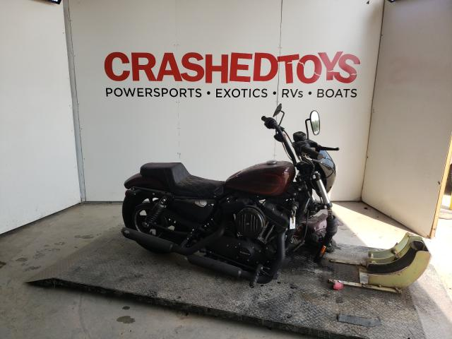 Salvage cars for sale from Copart Kansas City, KS: 2020 Harley-Davidson XL1200 NS