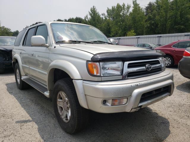 Salvage cars for sale from Copart Fredericksburg, VA: 2000 Toyota 4runner LI