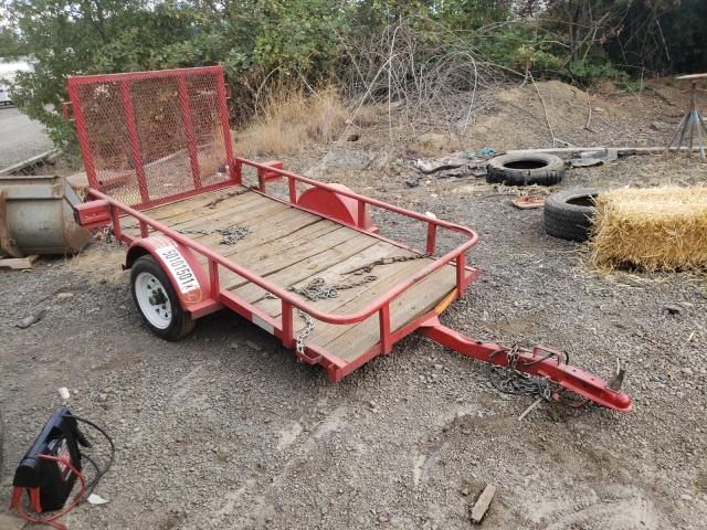 Salvage motorcycles for sale at Woodburn, OR auction: 2004 Big Dog TEX Trailer