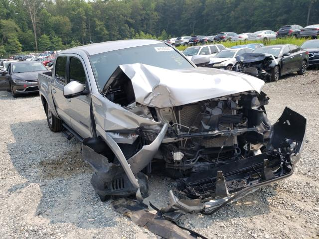 Salvage trucks for sale at Finksburg, MD auction: 2017 Toyota Tacoma DOU