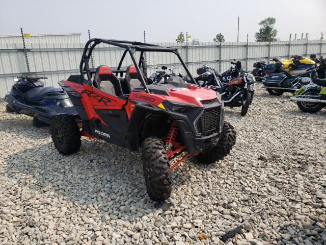 Salvage cars for sale from Copart Appleton, WI: 2020 Polaris RZR XP Turbo