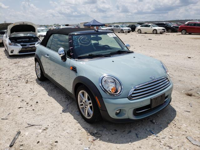 Salvage cars for sale from Copart New Braunfels, TX: 2012 Mini Cooper