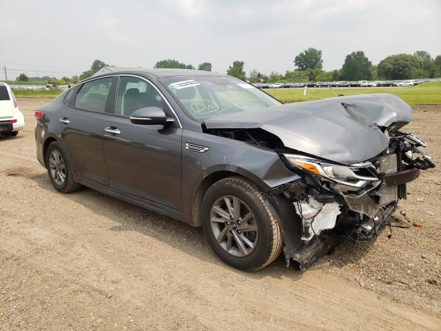 Salvage cars for sale from Copart Columbia Station, OH: 2020 KIA Optima LX