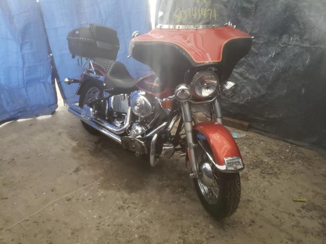 Salvage motorcycles for sale at Fredericksburg, VA auction: 2005 Harley-Davidson Flstci