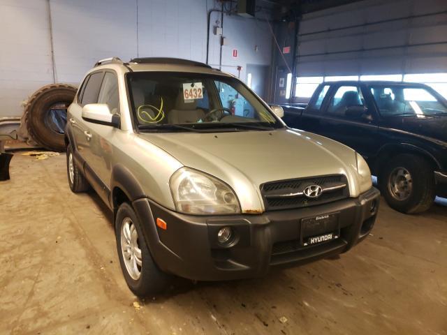 Vehiculos salvage en venta de Copart Wheeling, IL: 2006 Hyundai Tucson GLS