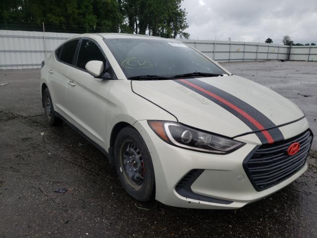 Vehiculos salvage en venta de Copart Dunn, NC: 2017 Hyundai Elantra SE