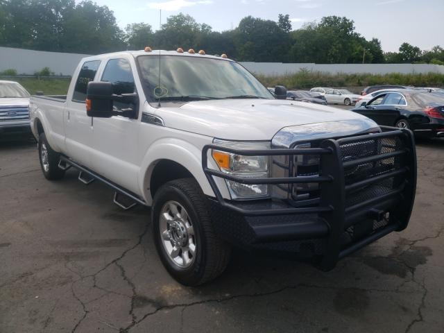 Salvage cars for sale from Copart Marlboro, NY: 2014 Ford F350 Super