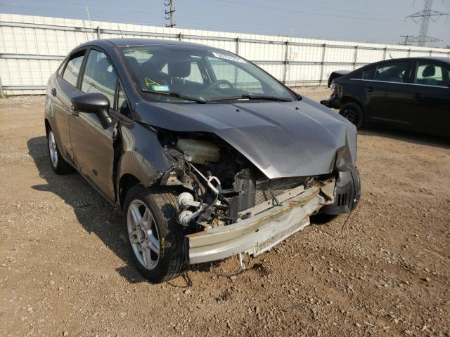 Ford Fiesta salvage cars for sale: 2017 Ford Fiesta