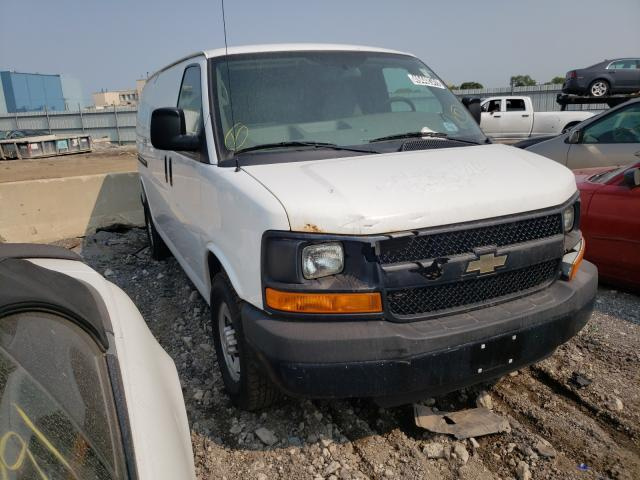 Salvage trucks for sale at Chicago Heights, IL auction: 2014 Chevrolet Express G3