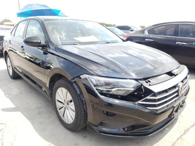 Salvage cars for sale from Copart Grand Prairie, TX: 2019 Volkswagen Jetta S
