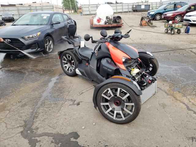 Salvage cars for sale from Copart Cudahy, WI: 2021 Can-Am Ryker Rall