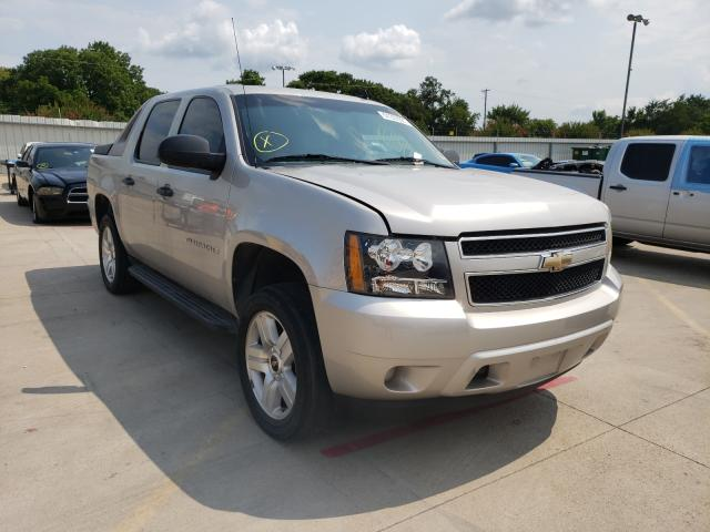 Salvage cars for sale from Copart Wilmer, TX: 2009 Chevrolet Avalanche