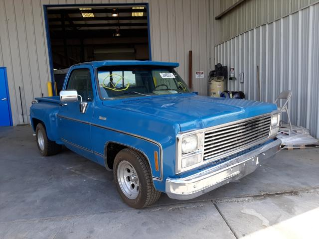 Salvage cars for sale from Copart Tucson, AZ: 1980 Chevrolet 1500