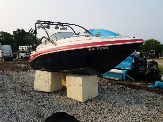 Salvage boats for sale at Cicero, IN auction: 1997 Thomas BOAT&TRLR