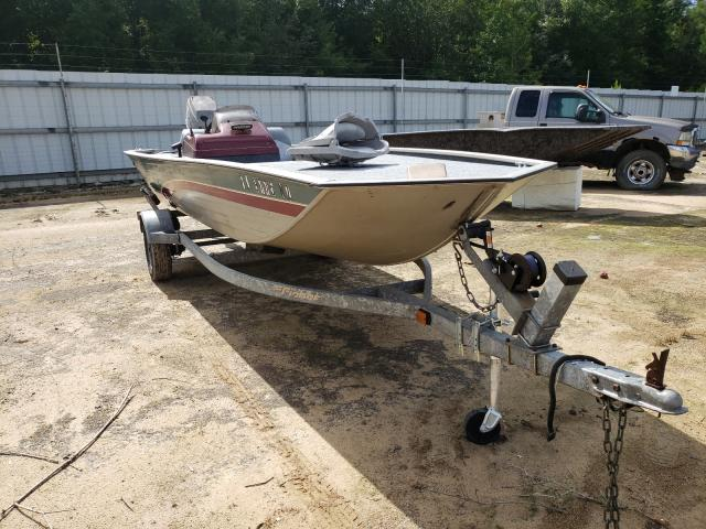 Salvage cars for sale from Copart Midway, FL: 1999 Fishmaster Boat