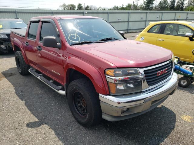 Salvage cars for sale from Copart Pennsburg, PA: 2004 GMC Canyon