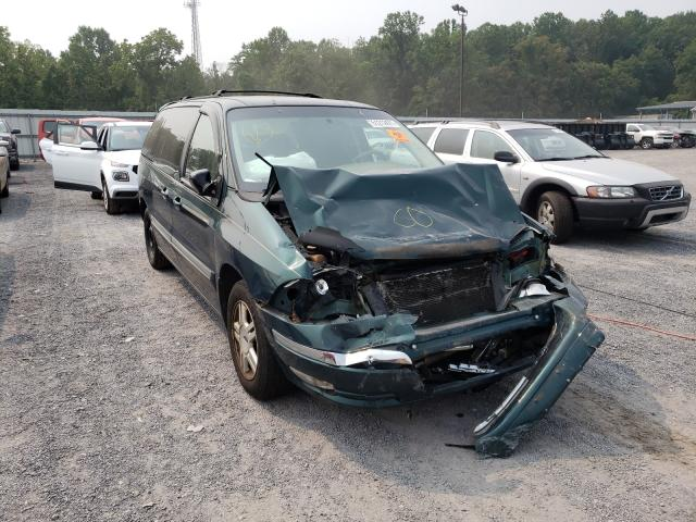 Ford Windstar salvage cars for sale: 2001 Ford Windstar
