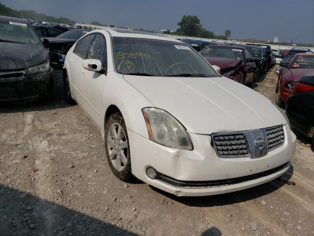 Salvage cars for sale from Copart Kansas City, KS: 2006 Nissan Maxima SE