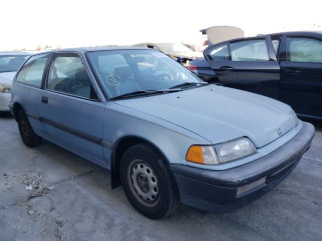 Honda Civic salvage cars for sale: 1990 Honda Civic