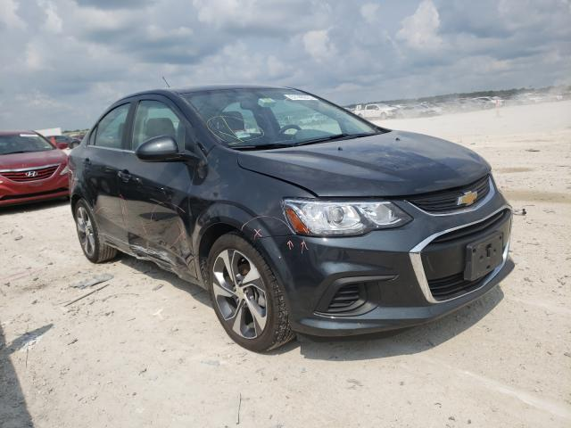 Salvage cars for sale from Copart New Braunfels, TX: 2020 Chevrolet Sonic Premium