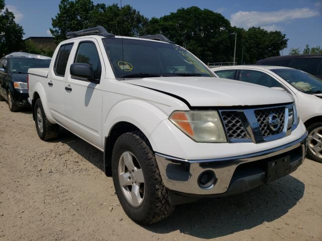 Salvage cars for sale from Copart North Billerica, MA: 2008 Nissan Frontier C