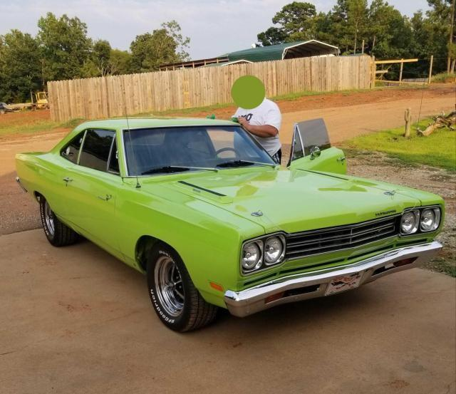 Plymouth salvage cars for sale: 1969 Plymouth Roadrunner