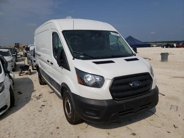 Salvage cars for sale from Copart New Braunfels, TX: 2020 Ford Transit T