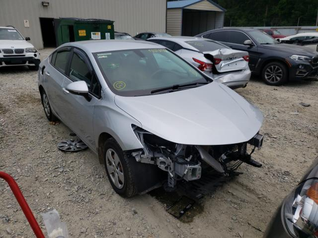Chevrolet salvage cars for sale: 2017 Chevrolet Cruze LS