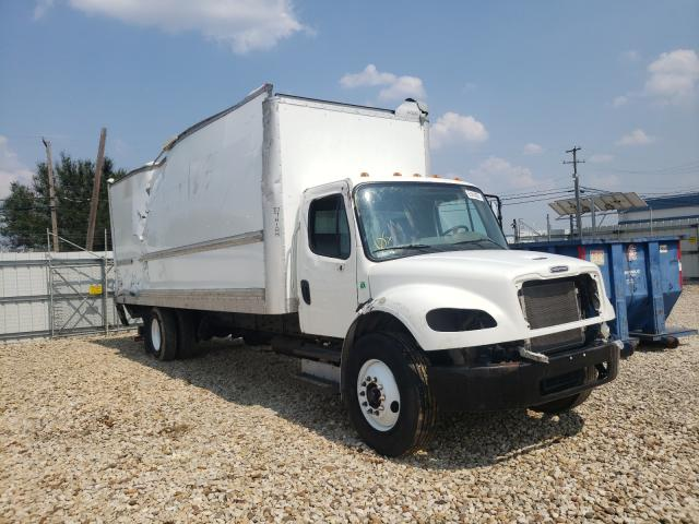 Salvage cars for sale from Copart Grand Prairie, TX: 2017 Freightliner M2 106 MED