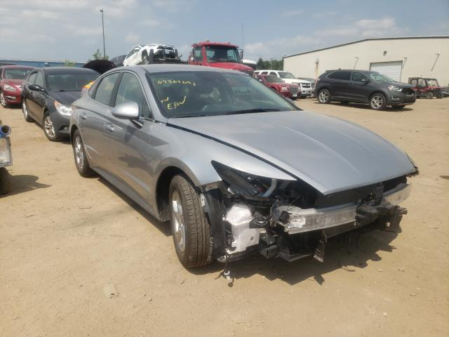 Salvage cars for sale from Copart Des Moines, IA: 2021 Hyundai Sonata SE