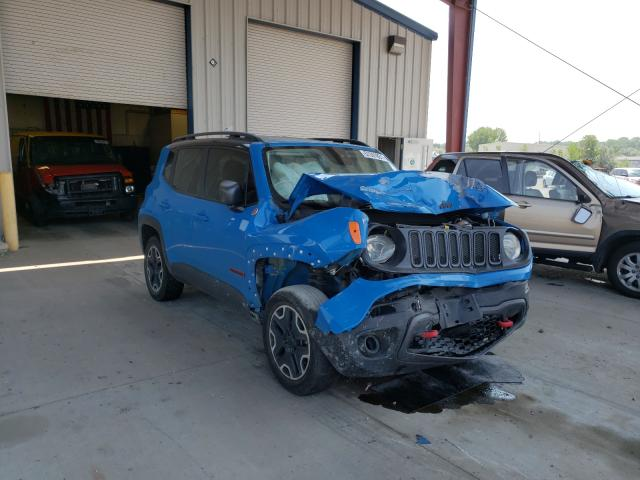 Salvage cars for sale at Billings, MT auction: 2015 Jeep Renegade T