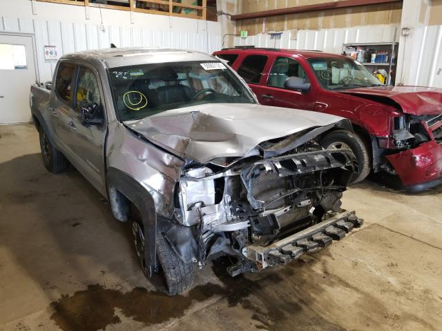 Salvage cars for sale from Copart Anchorage, AK: 2019 Toyota Tacoma DOU