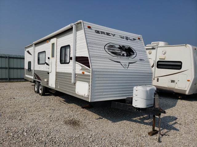 Forest River Travel Trailer salvage cars for sale: 2010 Forest River Travel Trailer