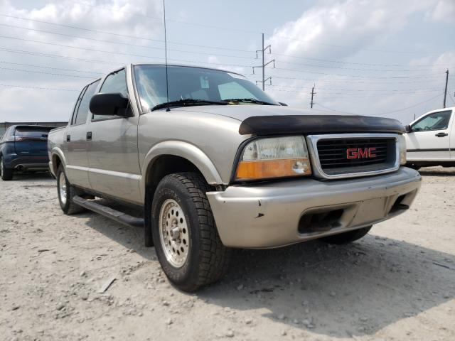 Salvage cars for sale from Copart Columbus, OH: 2004 GMC Sonoma