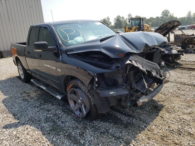 Salvage cars for sale from Copart Spartanburg, SC: 2011 Dodge RAM 1500