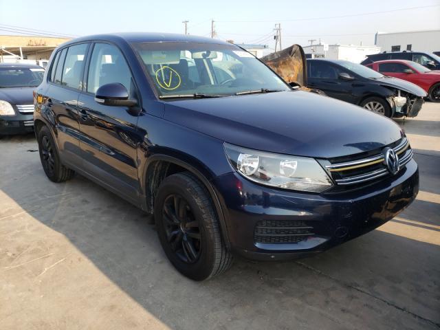 2012 VOLKSWAGEN TIGUAN S WVGAV7AX5CW541987