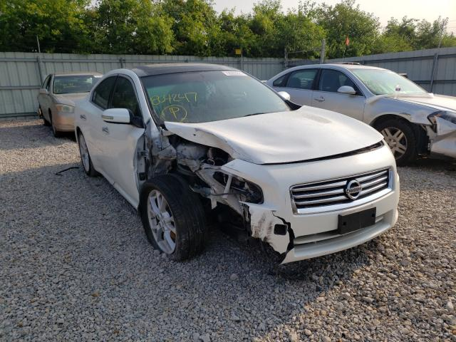 Salvage cars for sale from Copart Kansas City, KS: 2013 Nissan Maxima S