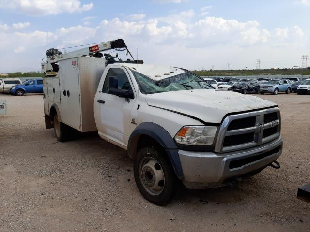 Salvage cars for sale from Copart Tucson, AZ: 2017 Dodge RAM 5500