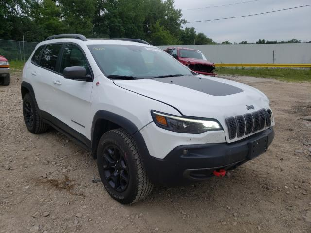 Salvage cars for sale from Copart Madison, WI: 2021 Jeep Cherokee T