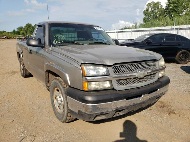 Salvage cars for sale from Copart Columbia Station, OH: 2003 Chevrolet Silverado