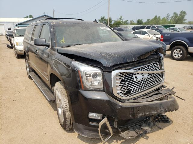 Salvage cars for sale from Copart Pekin, IL: 2016 GMC Yukon XL D