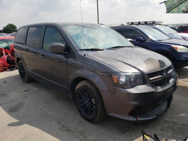 Salvage cars for sale from Copart Grand Prairie, TX: 2019 Dodge Grand Caravan
