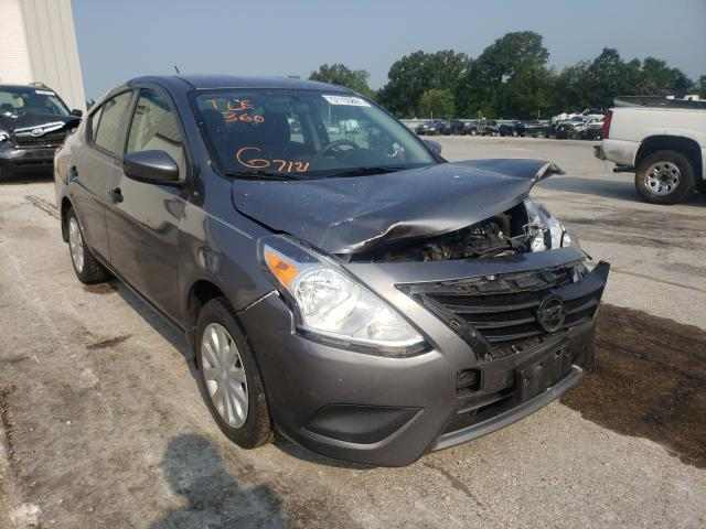 Salvage cars for sale from Copart Rogersville, MO: 2018 Nissan Versa S